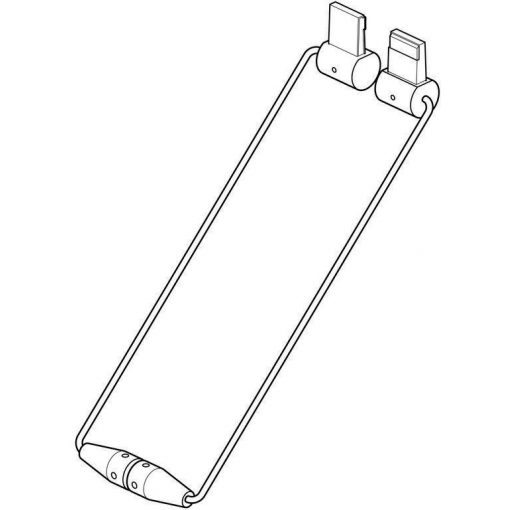 Armatúra - fehér 50 cm